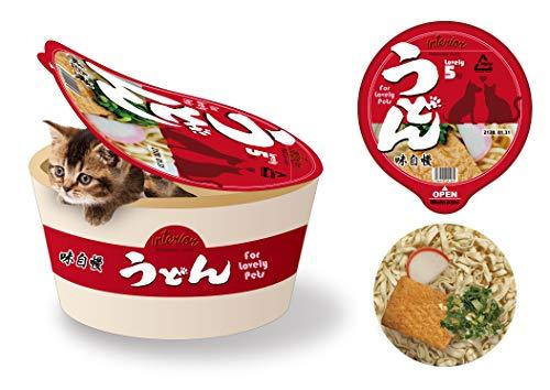 猫 犬 小動物 カップ麵ペットハウス うどん