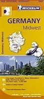 Germany Midwest - Michelin Regional Map 543 (Michelin Regional Maps) by NA(2013-03-25)