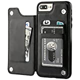 iPhone 7 Plus iPhone 8 Plus Wallet Case with Card Holder,OT...