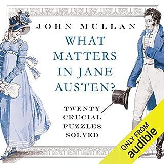 What Matters in Jane Austen audiobook cover art