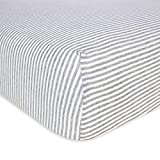 Burt's Bees Baby - Fitted Crib Sheet, Boys & Unisex 100% Organic...