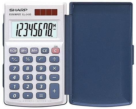 Calcolatrice Sharp EL-243S