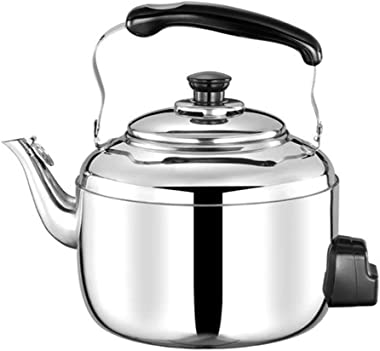 Stainless Steel Stove Top Kettle 304 4L Food Grade Stainless Steel Electric Kettle, Sound Electric Kettle, Large Capacity Con