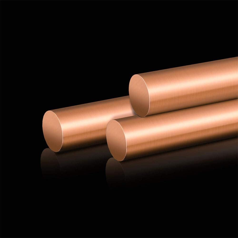500Mm 2Pcs,5mmx500mm LOKIH Copper Round Rod Length