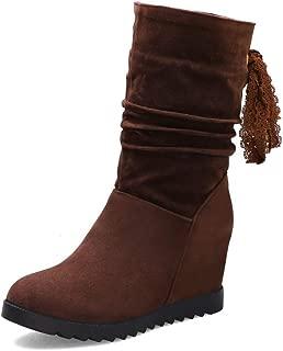 BalaMasa Womens ABS13913 Pu Boots