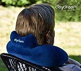 daydream: Nackenkissen (Mikroperlen) mit Kopfstütze, blau, 27 x 35 x 11 cm, N-5061