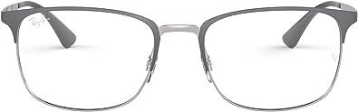 Ray-Ban RX6421 Rectangular Metal Eyeglass Frames