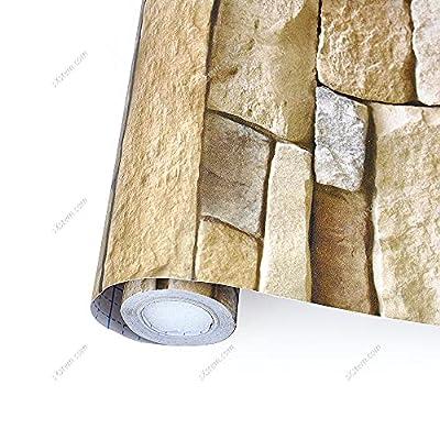 Tamaño: 0,45 x 10 m, tamaño suficiente para decorar tu hogar, oficina, hotel. Material: PVC respetuoso con el medio ambiente, impermeable, resistente a la humedad, autoadhesivo, extraíble y fácil de limpiar. No necesita pegamento adicional (sin agua,...