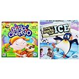Hasbro Hi Ho! Cherry-O Board Game for 2 to 4 Players Kids Ages 3 and Up (Amazon Exclusive) & Don't Break The Ice Game