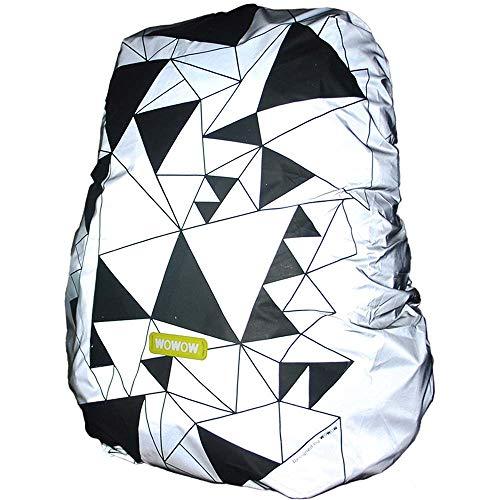 WOWOW Bag Cover Urban reflektierend und wasserabweisend, Einheitsgröße für Erwachsene, Unisex, Gelb, Einheitsgröße