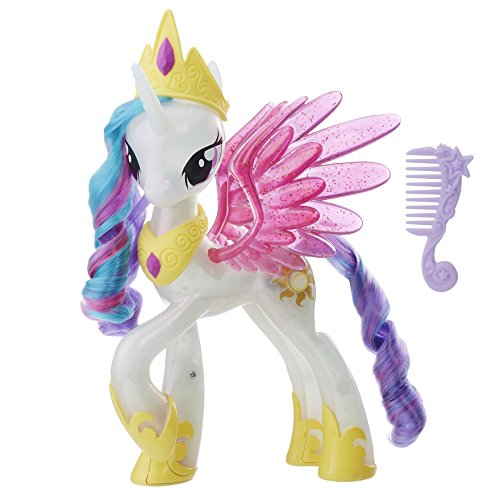 My Little Pony E0190EU4 Movie Leuchtzauber Prinzessin Celestia, Puppe, multi