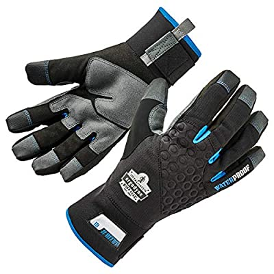 Ergodyne ProFlex Reinforced Thermal Waterproof Insulated Work Gloves