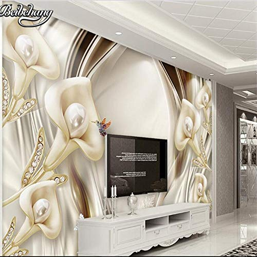 Pictur Brilliant atmosphere 3d calla lily lens stereo relief jewelry background wall