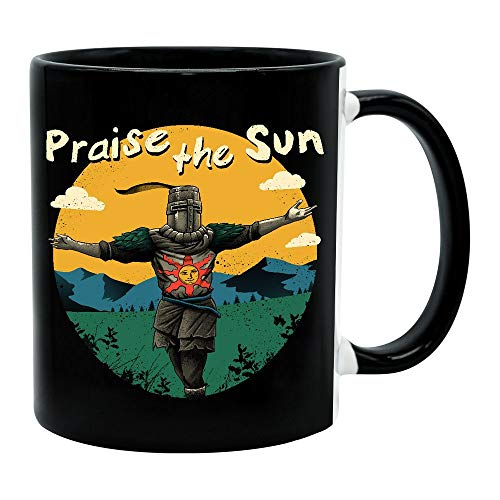 yvolve - Praise the Sun - Tasse | Gaming Merchandise | Fan-Artikel