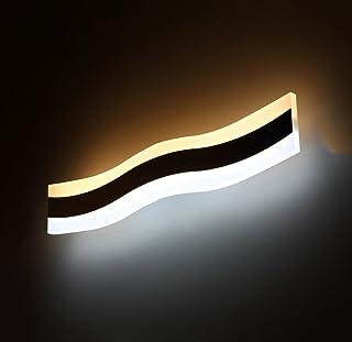 &Lámpara Frontal con Espejo LED Espejo LED Gabinete Luces Baño Espejo Luces Espejo Maquillaje Luces de aparador Espejo Esp...