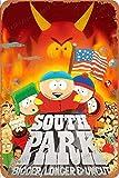 Cimily South Park Art Poster Vintage Blechschilder Zinn