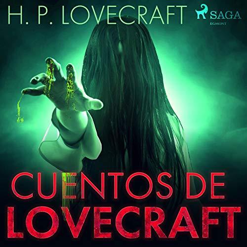 Diseño de la portada del título Cuentos de Lovecraft