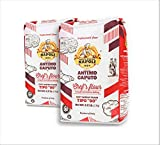 Antimo Caputo Chefs Flour 2.2 Pound (Pack of 2) - Italian Double Zero 00 - Soft Wheat for Pizza...