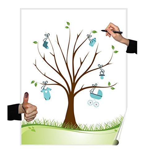 Póster con árbol de bodas, variosdiseños, juego para fiestas, bodas, cumpleaños o libro de visitas.
