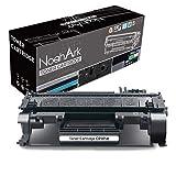 NoahArk Cartucho de tóner Compatible CE505A 05A para impresoras HP Laserjet P2030 P2035 P2035n, HP Laserjet P2050 P2055 P2055d P2055dn P2055x, 2300 páginas (1 Unidad), Color Negro