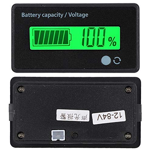 Learn More About Liyeehao Battery Capacity Monitor, 12-84V LCD Battery Display, Durable GY-6D for Ir...