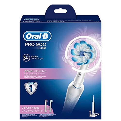 Braun Oral-B Pro 900 Sensi Ultrathin, Elektrische Zahnbürste