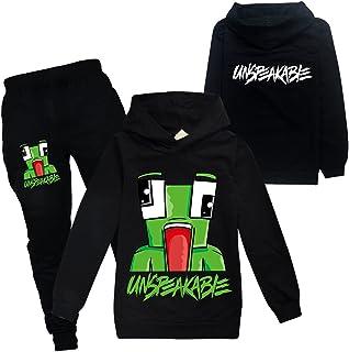Unspeakable Hoodies Set voor jongens meisjes Hoody + broek Unisex Fashion Pullover hoodies voor kinderen