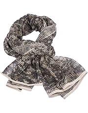 Tongcamo Camouflage Netting, Tactische Mesh Net Camo Sjaal voor Wargame, Sport & Andere Outdoor Activiteiten