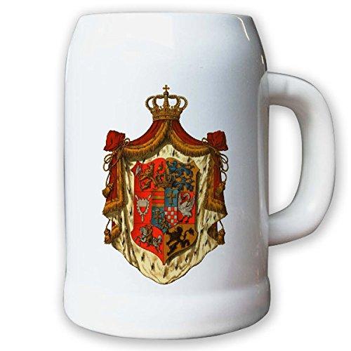Krug/Bierkrug 0,5l - Großherzogtum Oldenburg Adel Weimarer Republik #9438