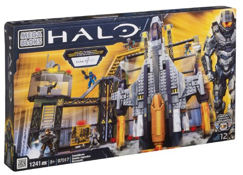 Mega Bloks 97017 - Halo UNSC Sabre with Gantry