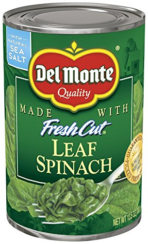 Canned Spinach