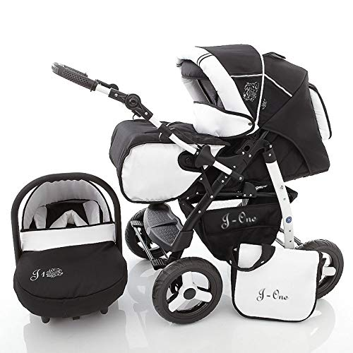 Cochecito de bebe 3 en 1 2 en 1 Trio Isofix silla de paseo J