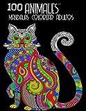 100 Animales Mandalas Colorear Adultos: LIBROS PARA COLOREAR PARA ADULTOS CON PATRONES DE ANIMALES Y...