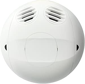 Leviton OSC05-RUW Ultrasonic, 180 Degree, Commercial Grade 500 Square Foot Coverage, Self-Adjusting, Ceiling Mount Occupancy Sensor, True White