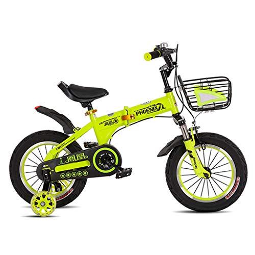 Kinderfahrräder Einräder Kinder-Klappräder 2-10 Jahre Fahrräder Für Männliche Und Weibliche Schüler Vielseitige Stoßdämpferfahrräder Outdoor-Fahrradräder