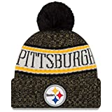 A NEW ERA Era Knitted Onfield Sport Beanie ~ Pittsburgh Steelers