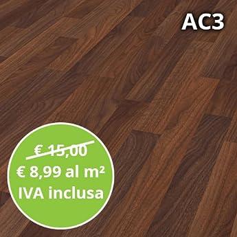Foto di Pavimento in Laminato Noce Astoria Confezione Da 2.47 Mq   AC3