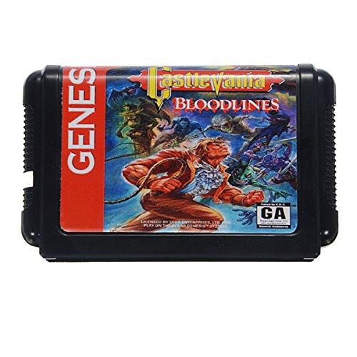 TaiTech Castlevania Zucht Game Cartridge 16Bit Game Card für Sega Megadrive Genesis NTSC System