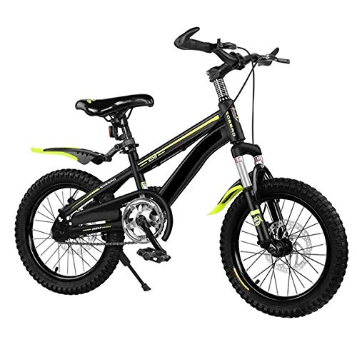 HHGO Kids Bike Kids Bike Boys Girls Freestyle Bicycle 16 18 20 Inch, Children Bicycle Cruiser Cycling Dirt Bicycle, Front and Rear Double Disc Brakes,Outdoors Sport Road Bikes