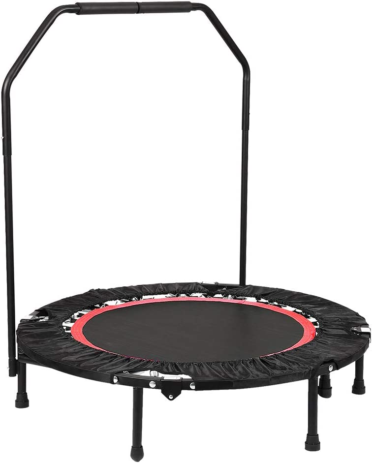 shipfree ANCHEER Fitness Exercise Trampoline with Handle 40