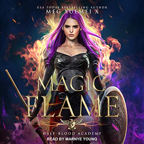 Magic Flame Audiobook By Meg Xuemei X cover art