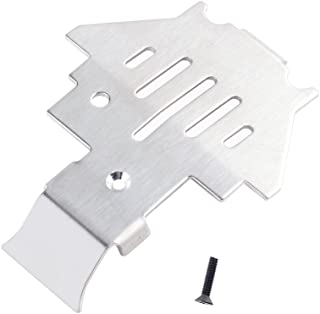 INJORA TRX4 Metal Chassis Armor Protection Skid Plate for 1/10 RC Crawler TRAXXAS Trx-4