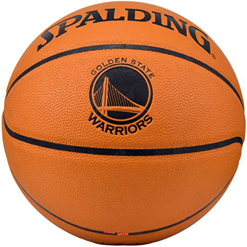 Lowest Price! Spalding NBA Golden State Warriors Team Logo Composite Leather Basketball