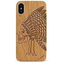 iPhone 11CaseYard 木製 木目 木 iPhoneケース ウッド アイフォンケース 国内正規品Indian Chief Skull Cherry CY0022-CEng-i11