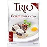 Trio Country Gravy Mix, Sausage, Just Add Water, 22 oz Bag