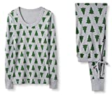 Hanna Andersson W Holiday Tree Pajama Set-Tannenbaum Holiday Tree