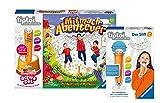 tiptoi Ravensburger 00044 Active Set Mitmach-Abenteuer, juego de movimiento para niños a partir de 3 años + 00801 lápiz con función de grabación