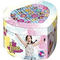 Soy Luna Set joyero con 22 anillos, unica (Kids Euroswan WDSL119)