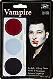 Tri-Colour Palette - Vampire Body and Face Paint (Maquillaje/ Pintura de Cara)