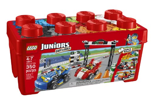 LEGO Juniors 10673 Race Car Rally by LEGO Juniors